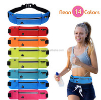 Unisex Outdoor Nylon Waterproof Multifunctional Hiking Traveling Gym Sport Jogging Running Waist Bag Wholesale