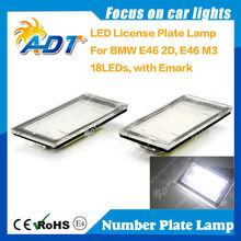 SMD LED Canbus License Plate for BMW E46 2D