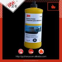 3M silicone car wax, 3M foam polishing pad glaze