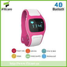 Bluetooth heart rate monitor watch, pulse rate wrist watch, pulse watch