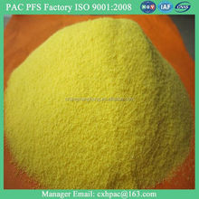 ISO SGS poly aluminium chloride chemical powder msds
