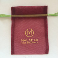 Factory Wholesale Sheer Pearl Yarn Bag with logo