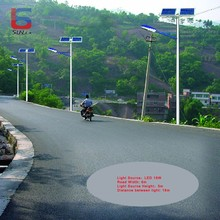 Outdoor 18W Solar Street lamp For New Rural Construstion