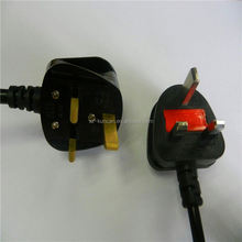 uk Power Cord with IEC female Power Cord c7 or c13 Power Cord