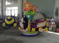 Entertainment!!!! 2014 Lovely design amusement park rides in playground Aircraft Bee Castle Dipalmagame model No.162
