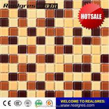 Practical promotional broken glass mosaic swimming pool tile
