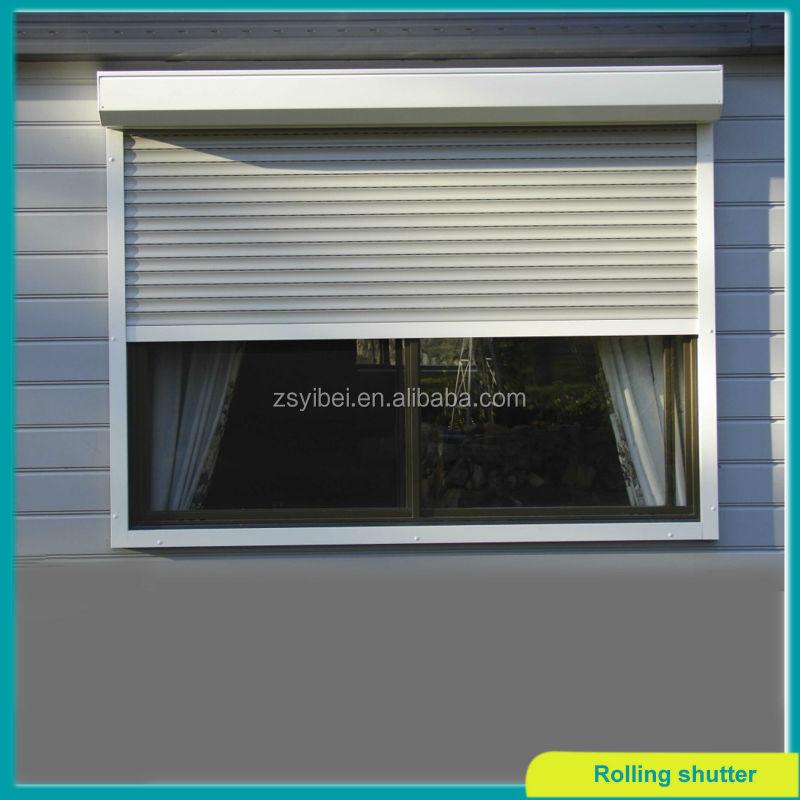 Roller Shutter Exterior Aluminium Window Buy Aluminium Window Outdoor Roller Shutter Roller