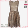 2014 summer new design new feeling sleeveless full skirt sexy without back cheap sequin prom dresses