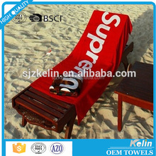 Best selling!!! 80% polyester 20% polyamide printed microfiber towel for beach