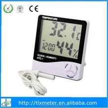 Digital temperature humidity htc-1clock calendar memory function