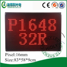 P16 high quality 48*32 dots customized led display screen xxx video