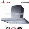 EKM03 600mm T Tipo de montaje en pared de la cocina campana de chimenea extractora