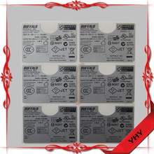 UL recognized labels