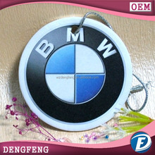 hanging paper perfume for BMW car promotional and advertising