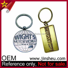 High Quality Metal Souvenir Gift Customized Key Chain for Company