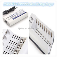 828 Multi-channel 8-slot chargeur de batterie for AA /AAA NI-MH/NI-CD rechargeable battery