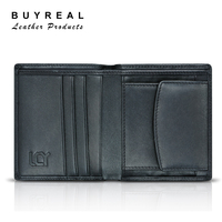 China Supplier Men's Genuine Leather Wallet To Import LCY Branded Wallet
