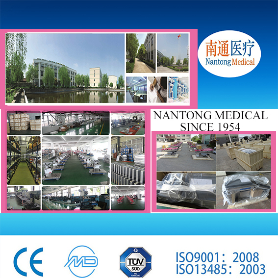 5 function electric hospital bed with linak motor