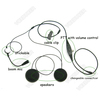 Racing Helmet Headset with Speaker & PTT for iPhone 4, 4s, 5, 5c, 6