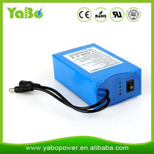 Rechargeable 18650 lithium ion battery 12v 20ah li ion battery for mini electric vacuum cleaner, led light /Panel