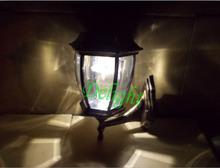 High power cheap aluminum solar led outdoor wall light ,Super Power solar outdoor lighting (DL-SW714-5)