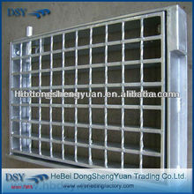 Steel grating meshFactory direct hot-dipped galvanized serrated steel grating for platform in high quality (28 years history)