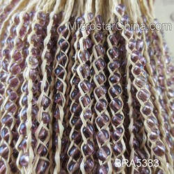 Hot sale love story lafite grasses mix color fashion bracelet beads