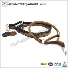 Rolled Round Soft Padded Dog Collar,Soft Leather Wholesale Dog Collar