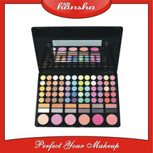 professional 78 colors eyeshadow pallete for your different requirement