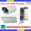 Day&Night 1080P Waterproof Vehicle Car License Plate Recognition(LPR) WDR Car Plate Number CCTV Camera