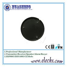 44mm black round piezo electric buzzer