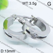 Practical and nice stainless steel earrings casting