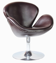 swan chair with round base /swan designer chair/swan chair with stainless base-k138