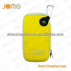 wholesale color ego carry case with solar pannel 4000mah factory price ego case/e cig ego carry case