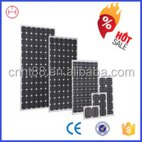 Top efficiency long lifetime 100w polycrystalline solar panel