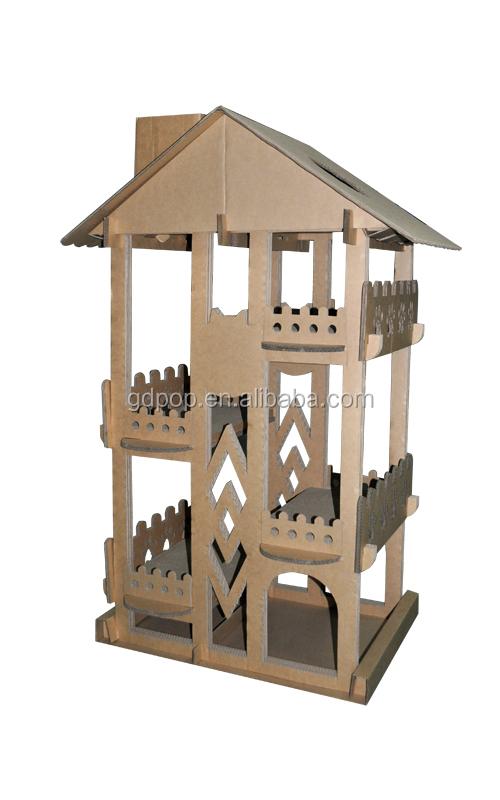 recycler le papier b cl288 chat grimpeur carton bricolage arbre chat cage caisse. Black Bedroom Furniture Sets. Home Design Ideas