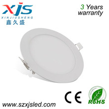 warm/natural/cool white smd 2835 led ceiling lamp 4w 90mm small round backlight panel light