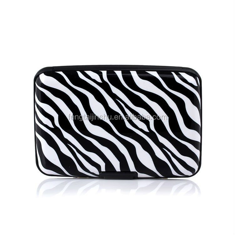 NEW Aluminum RFID Blocking ID Credit Card Wallet Holder Mini Pocket Case Box USA