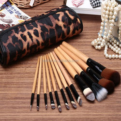 synthetic hair beauty new top-quality beauty needs 12pcs makeup brush kits
