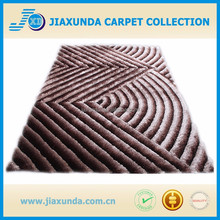 3D polyester new design shaggy modern area rugs