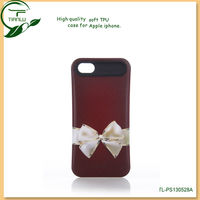 Wholesale factory price Lovely promotional soft tpu case for iphone 5 exclusive tpu back cover case for iphone 5 case