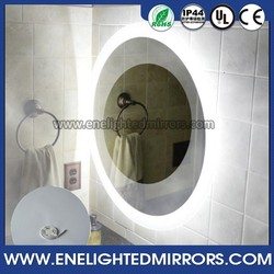 European Style Series Round Led Wall Mirror With Demister Pad