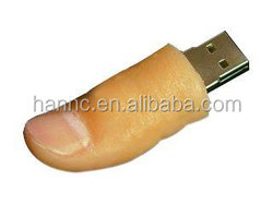 Novelty design thumb USB flash drive