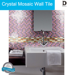 3D effect and feel of shiny glass tile 3d epoxy wall tiles