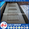 natural teak sapeli wood veneer door skin/HDF door skin from luligroup