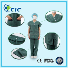 CE certificate medical scrub suits for sale before surgery