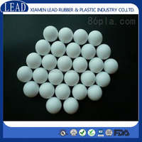 White color custom -made cricket rubber ball