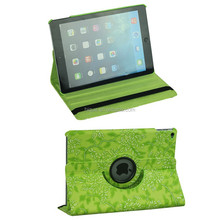 smart case Leather Case for ipad Mini 1/2/3 360 degree Swivel Case Grape Plant Printing