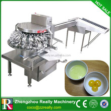 Tipo rotativo huevo breaking / cracking máquina / Fresh huevo máquina por separado