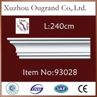 polyurethane products decorative cornice moldings